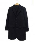 LOUNGE LIZARD(ラウンジリザード)の古着「ウールチェスターコート」 ブラック
