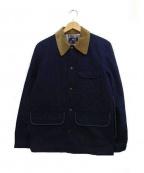 A.P.C.(アーペーセー)の古着「キルティングジャケット」 ネイビー