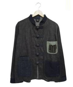 Kraken(クラーケン)の古着「チャイナインナーカバーオール」|ブラック