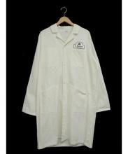 Adam et Rope(アダムエロペ)の古着「ショップコート」|ホワイト