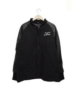 THRASHER(スラッシャー)の古着「スタジャン」 ブラック