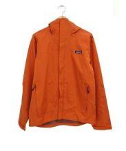 Patagonia(パタゴニア)の古着「マイクロバーストジャケット」 オレンジ