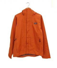 Patagonia(パタゴニア)の古着「マイクロバーストジャケット」|オレンジ