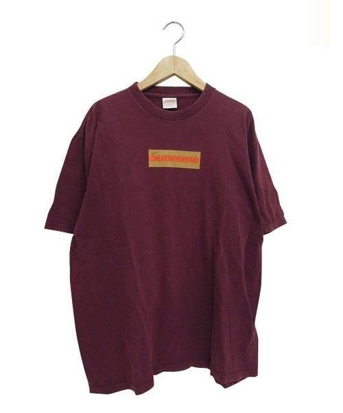 中古 古着通販 supreme シュプリーム gucciカラーboxロゴtシャツ
