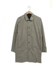 COS(コス)の古着「ステンカラーコート」|グレー