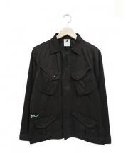 PLUS L by XLARGE(プラスエルエクストララージ)の古着「MIL ジャケット」|ブラック