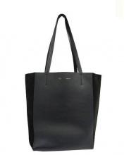 CELINE(セリーヌ)の古着「バイカラートートバッグ」|ネイビー×ブラック