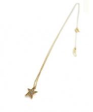 STAR JEWELRY(スタージュエリー)の古着「スターネックレス」 ゴールド