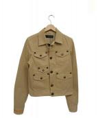 DSQUARED2(ディースクエアード)の古着「ミリタリージャケット」|ベージュ