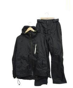 DAIWA(ダイワ)の古着「ナイロンジップアップセットアップジャケット」|ブラック