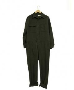 JOURNAL STANDARD relume(ジャーナルスタンダードレリューム)の古着「ジャンプスーツ」 カーキ