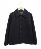 JACKMAN(ジャックマン)の古着「アワードジャケット」 ブラック