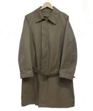 ABAHOUSE(アバハウス)の古着「ライナー付ステンカラーコート」|ベージュ