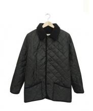 Traditional Weatherwear×B&Y(トラディショナル ウェザーウェア×ビューティアンドユース)の古着「QLT WAVERLY BOA BYSPステンカラーコート」|ブラック