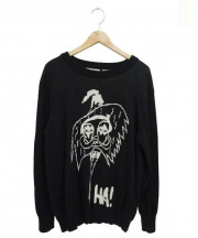 haculla(ハキュラ)の古着「LE FEMME セーター」 ブラック
