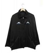 GOOD OL(グッドオル)の古着「リバーシブルスーベニアジャケット」|ブラック