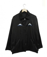 GOOD OL(グッドオル)の古着「リバーシブルスーベニアジャケット」 ブラック