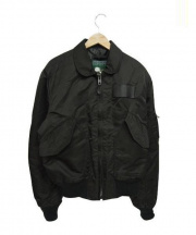 SPIEWAK(スピーワック)の古着「MA-1ジャケット」 ブラック