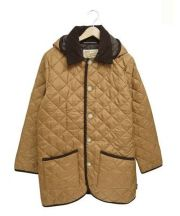 Traditional Weatherwea(トラディショナルウェザーウェア)の古着「ウェーヴァリーフード ロングコート」 ブラウン