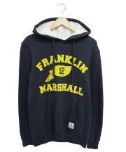Franklin & Marshall(フランクリンアンドマーシャル)の古着「プルオーバーパーカー」 ネイビー