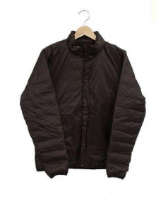 MARMOT(マーモット)の古着「メトロダウンシャツ」 ブラウン