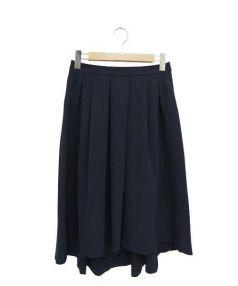 ef-de(エフデ)の古着「ミディスカート」|ネイビー