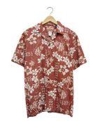 RJC(アールジェーシー)の古着「オープンカラーシャツ」|レッド