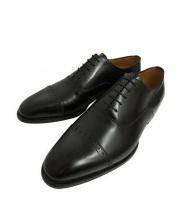 Enzo bonafe(エンツォボナフェ)の古着「ストレートチップシューズ」|ブラック