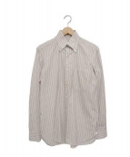 BORRELLI(ボレッリ)の古着「ドレスシャツ」|レッド