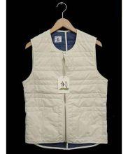 ARPENTEUR(アーペントル)の古着「キルティングベスト」|ホワイト