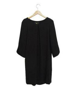 LAPIS LUCE PER BEAMS(ラピスルーチェパービームス)の古着「ブラウスワンピース」|ブラック