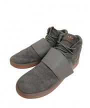 adidas(アディダス)の古着「ハイカットスニーカー」|グレー