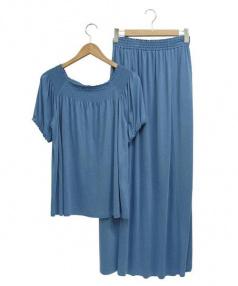 LOUNIE(ルーニー)の古着「セットアップワンピース」 ブルー