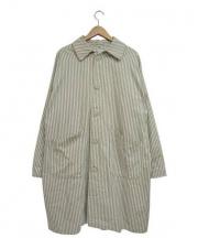 Yarmo(ヤーモ)の古着「ワークコート」|ホワイト×グレー