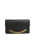 SEE BY CHLOE(シーバイクロエ)の古着「3つ折り財布」 ブラック