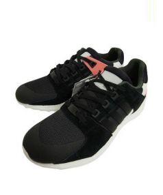 adidas(アディダス)の古着「スニーカー」 ブラック×ピンク