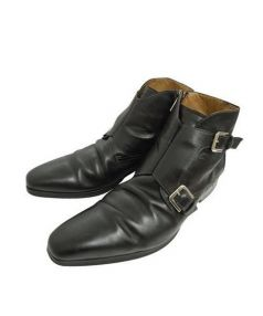 Orobianco(オロビアンコ)の古着「ダブルモンクブーツ」|ブラック