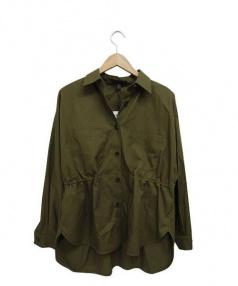 icB(アイシーービー)の古着「シャツジャケット」|カーキ