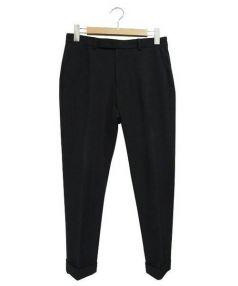 BEAUTY&YOUTH(ビューティアンドユース)の古着「ストレッチアンクルパンツ」|ブラック