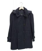 GIAN CARLO ROSSI(ジャンカルロロッシ)の古着「メルトンコート」|ネイビー