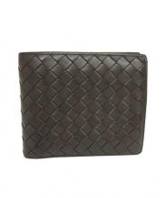 BOTTEGA VENETA(ボッテガベネタ)の古着「2つ折り財布」|ブラウン