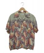 SUN SURF(サンサーフ)の古着「アロハシャツ」|グレー