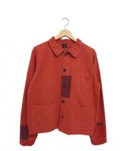 orSlow(オアスロウ)の古着「カバーオール」|レッド