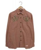 NEIGHBORHOOD(ネイバーフッド)の古着「COWGIRL / C-SHIRT.LSシャツ」|ピンク