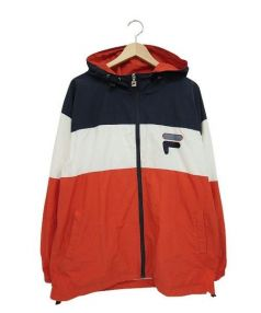 FILA(フィラ)の古着「ナイロンジャケット」|トリコロールカラー