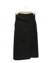 BEAUTY&YOUTH(ビューティアンドユース)の古着「ラップタイトスカート」|ブラック