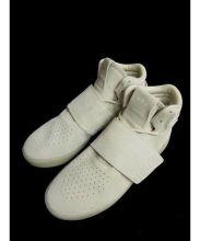 adidas(アディダス)の古着「ハイカットスニーカー」|ベージュ