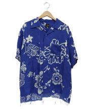Needles(ニードルス)の古着「アロハシャツ」 ブルー