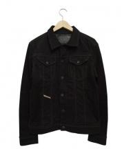DIESEL(ディーゼル)の古着「デニムジャケット」 ブラック