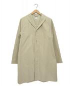 HERVIER PRODUCTIONS(エルヴィエプロダクションズ)の古着「ローブコート」|アイボリー